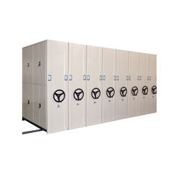 Iron cabinet dense ark knock down movable shelving high quality wholesale