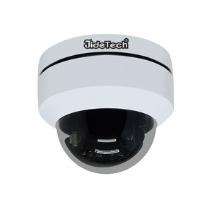 JideTech 4X Zoom 1080P PTZ Camera Waterproof H.265 POE Mini Security IP Camera Outdoor
