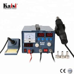 Kaisi Mobile Phone Welding 3 in 1 SMD Hot Air Soldering Rework Station With 3A DC Power Supply