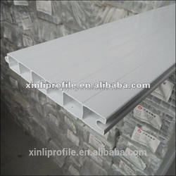 pvc door panel profile 60 series/upvc window profiles/China factory