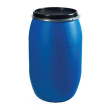 100% HDPE 200L plastic barrel drums for chemicals packing