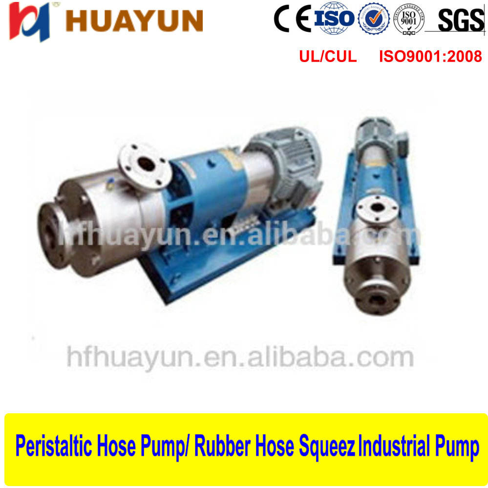 High speed inline mixing and emulsifying pump High Pressure Homogenizer for milling emulsifying, high - speed shear dispersing