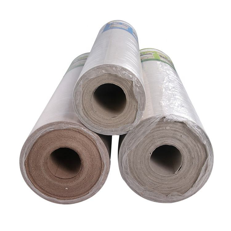 temporary floor protection paper with logo-printing on paper wholesale
