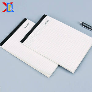 Customized Printing Logo A4 A5 Memo Pad Writing Notepad