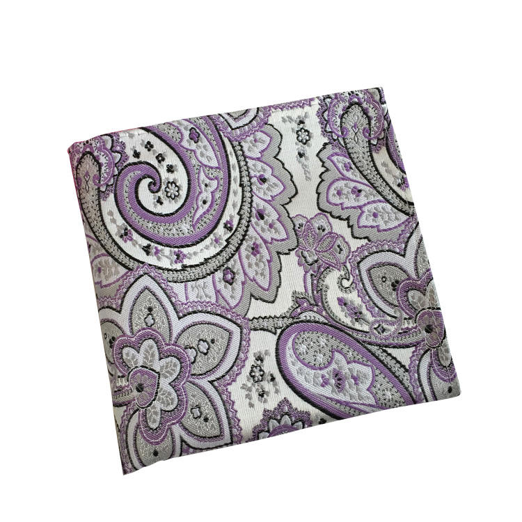 Custom Polyester Men's Handkerchief for Suit Pocket