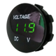 China Factory price Cheap Model 5-48V Digital Display Round Mini Voltmeter