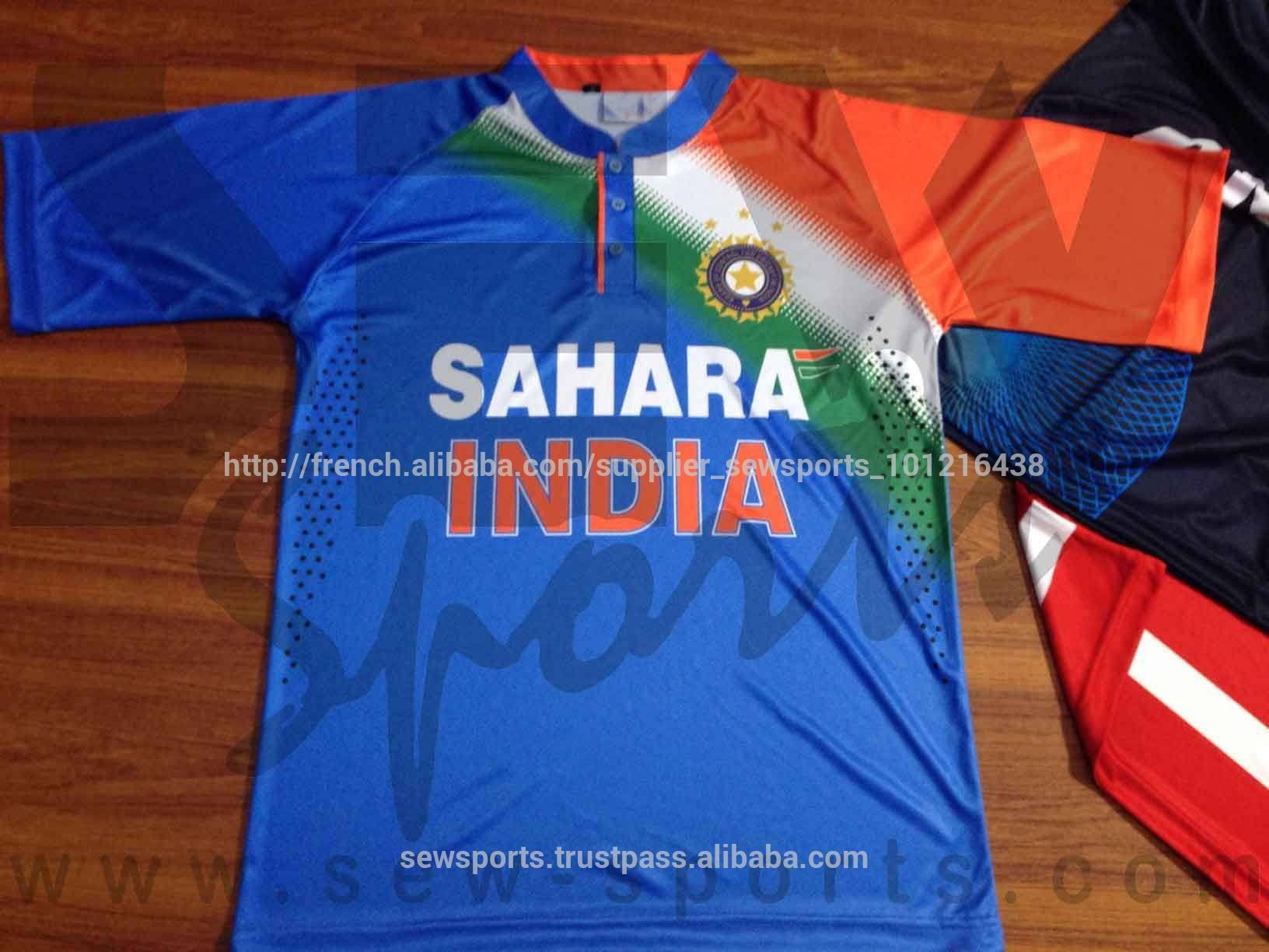 Indien. t20 shirt <span class=keywords><strong>sublimation</strong></span>