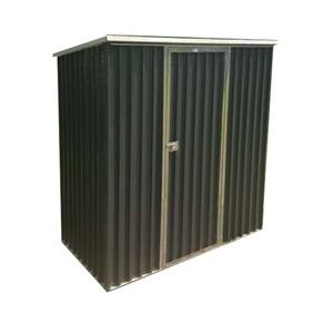 steel frame roof storage shed/garden house