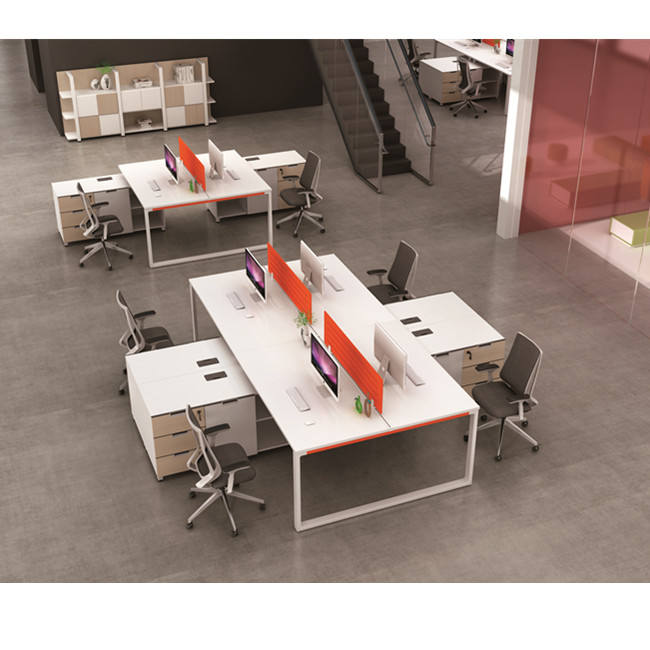 2 Seats Office Partitions Workstation Desk