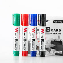 Classic and Durable Dry Erase Markers 4 Colors Whiteboard Marker Pen
