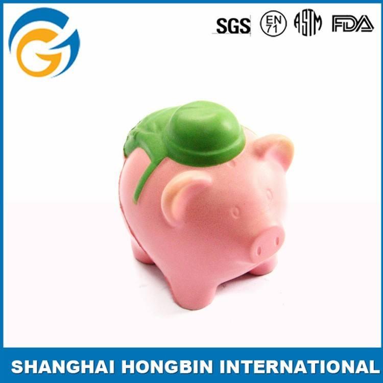 Pig balle anti - Stress Logo personnalisé pour la Promotion