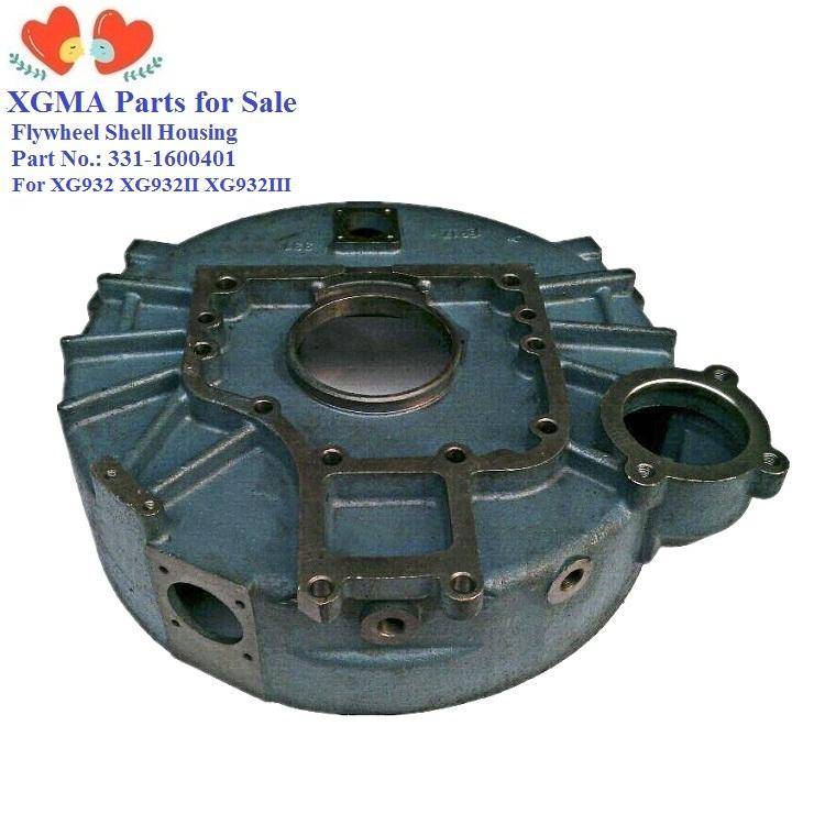 XGMA wheel loader spare parts XG931XG931II XG932 XG932II X935 flywheel shell housing 331-1600401 for Yuchai engine YC6B125-T10