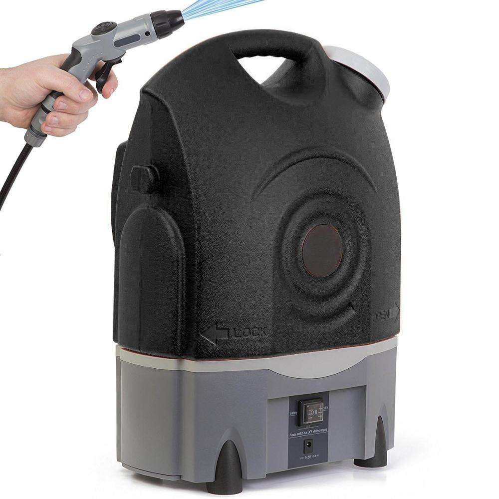 Multifunctional Rechargeable Battery Powered Portable Cleaning Machine Air Conditioner Pressure Washer