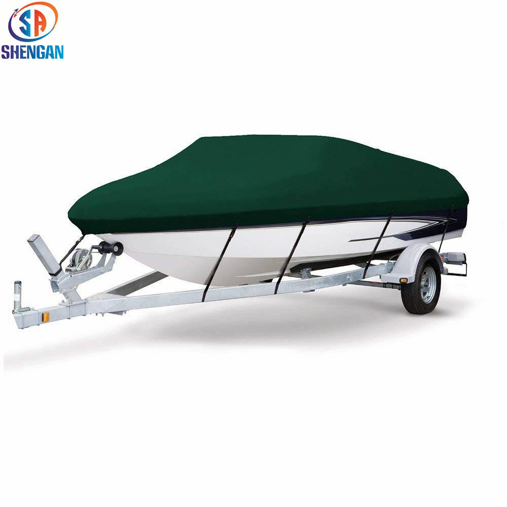 2019 new design Hot Sell Boat Cover Three Sizes Water Proof Trailer Fishing Ski Covers