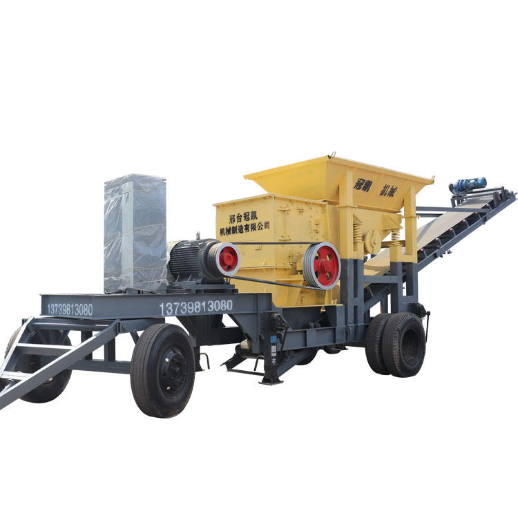 Mobile crusher sand machine gravel crusher jaw crusher manufacturer direct sales