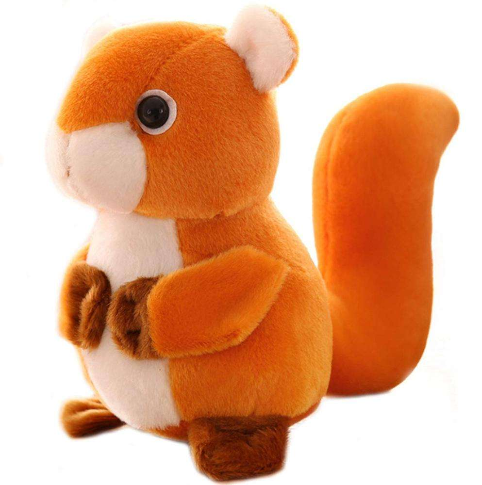Cute Design Cartoon Funny Plush Squirrels Stuffed Animal Soft Toys