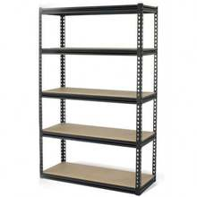heavy duty metal 5 tier garage storage wire shelves