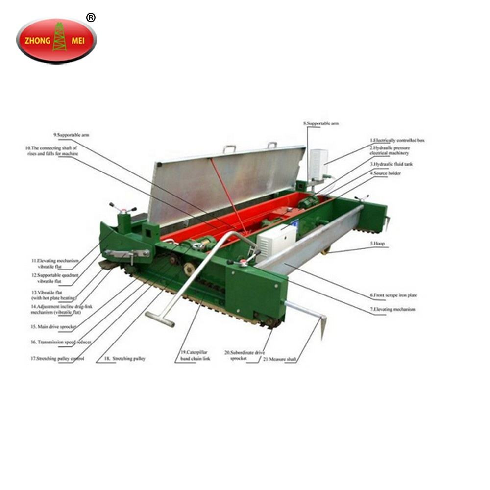 Sales! High Quality And High Review TPJ-2.5 Running Track Paver Machinery