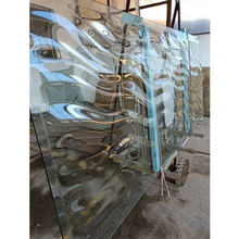 fusing glass decorative glass panels hot melting cast glass for gift store