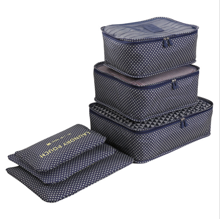 Hot Sale Factory 6 pcs Organizer Packing Cubes Set Compression Multi-function Travel Packing Cubes