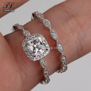 Cheap price 925 sterling silver gold silver available arabic wedding engagement rings