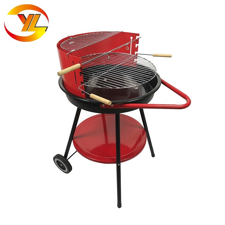 ADJUSTABLE STAINLESS STEEL PILLAR BBQ BARBECUE GRILL CHARCOAL COOKING STAND