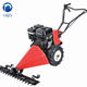 petrol engine manual hand push grass cutting machine , grass cutter machine