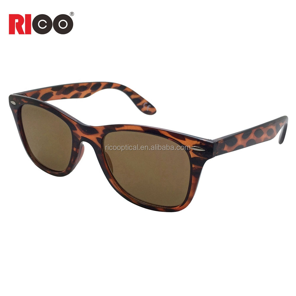 china factory cheap custom amber vision sunglasses for man and woman