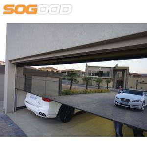 50mm aluminum frame aluminum frameless glass garage door price