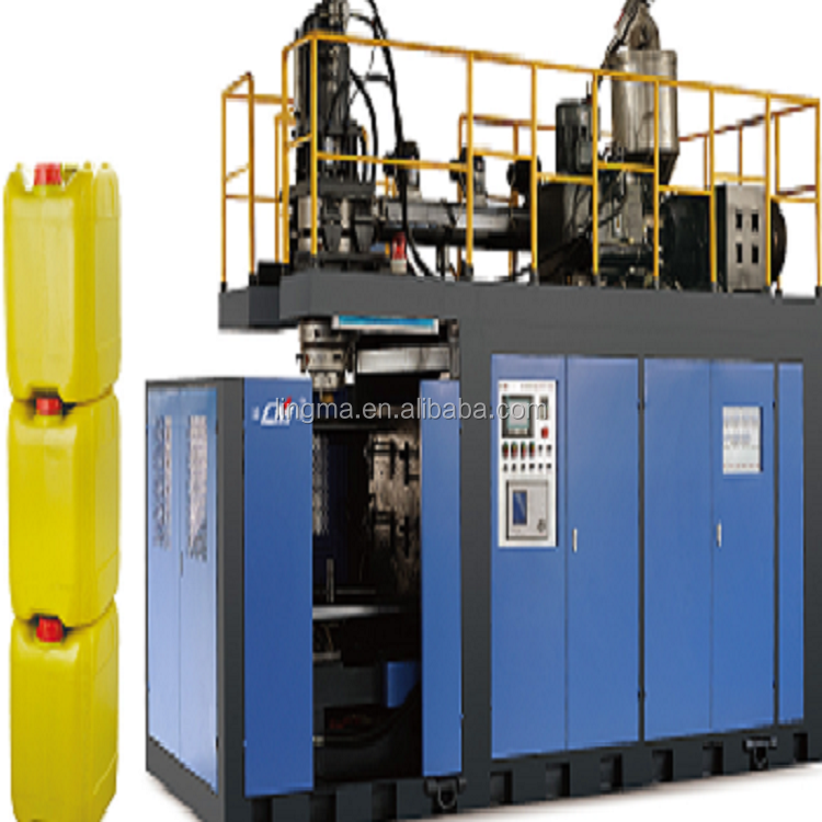 Fully automatic hydraulic ectrusion blow molding machine for 30 liter oil tank