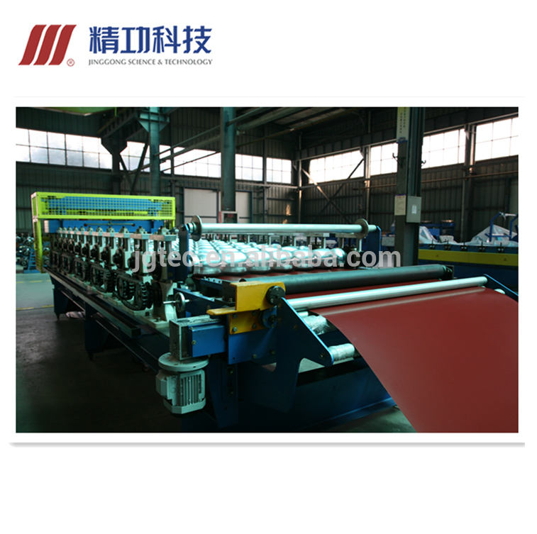 New Products Auto Cold rolled formed Tile forming machine