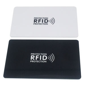 Credit Debet Card Protector PVC RFID Blocking Card