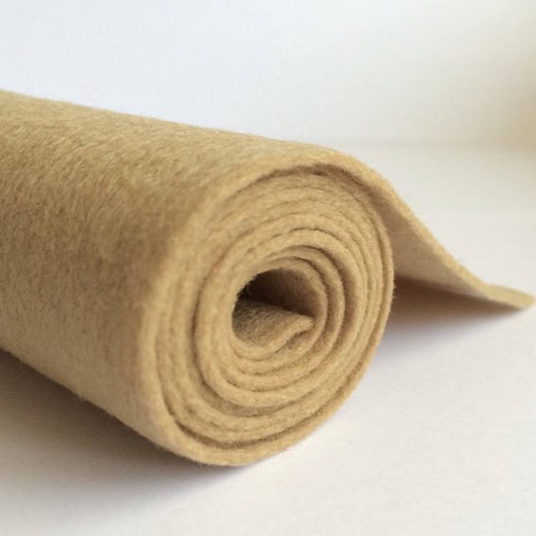 needle punched 3mm 5mm thick 100% merino wool felt fabric rolls