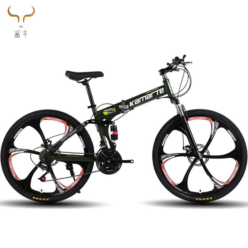 "Wholesale customized 18 21 24 27 SPEED MTB Bike bicycle 26 inch MTB mountain bike/26"" Folding Mountain Bike 27 Speed of Bicycle"