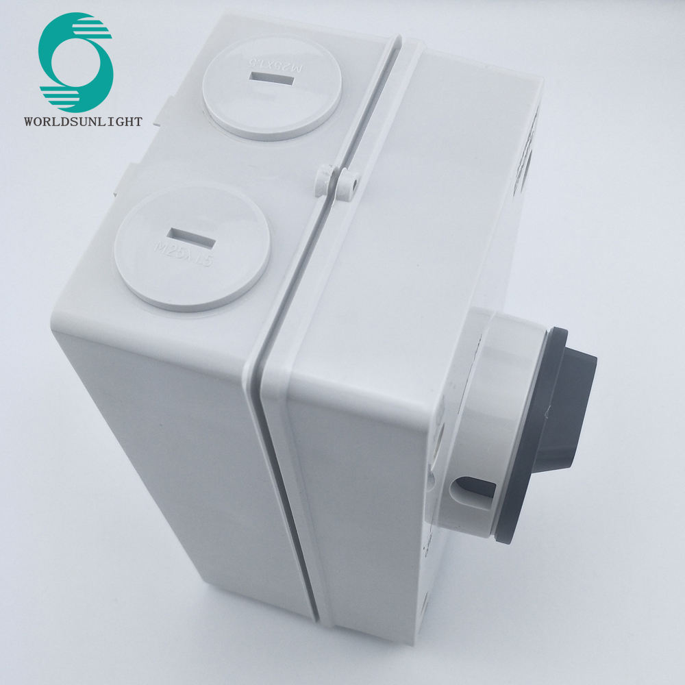 Solar system DC1000v 32a isolator switch
