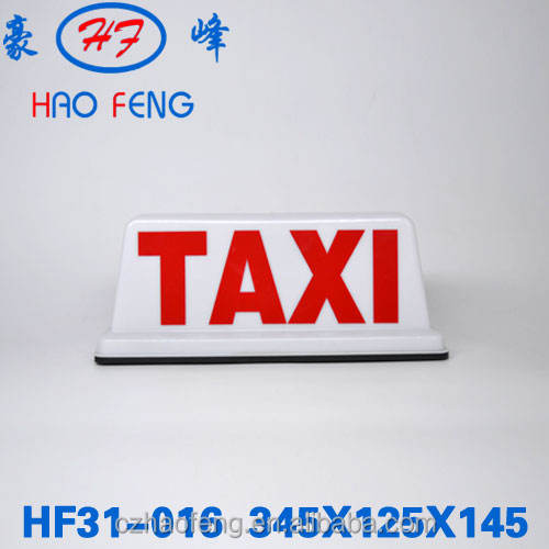 HF31-016 taxi advertising signs taxi top advertising light box taxi roof advertising box