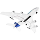 RC Hobby for sale 2.4G EPP 4ch RC airplane airbus A380 RC plane