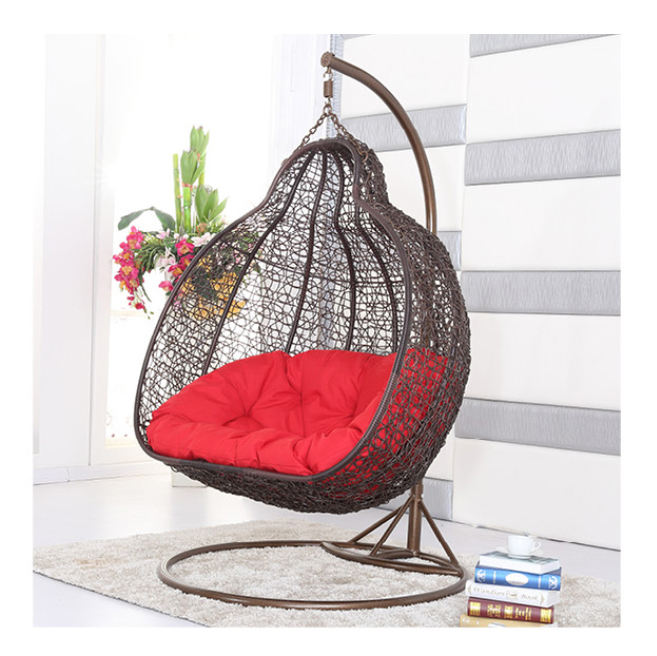 2018 Nice New Products Launch Outdoor Garden Furniture Popular Colorful Hanging Egg Swing Chair
