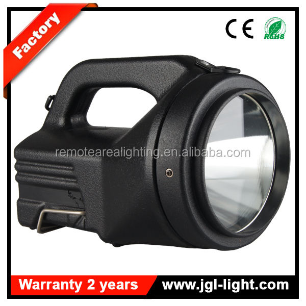 Most popular search and rescue lights explosion proof 35W 3500lm HID portable search light battery 12V7Ah
