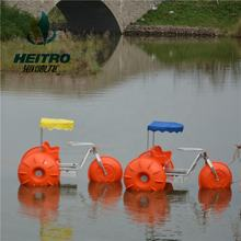 high quality aluminium alloy frame polyethylene wheels sea tricycle water bike water tricycle for sea