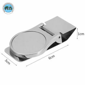 Wholesale Metal Money Clip With Coin Holder