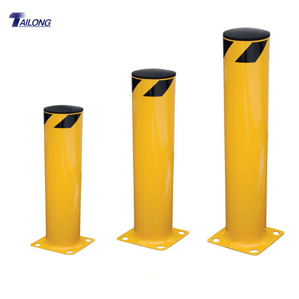 Warning Post Road Barrier Steel Bollard for Traffic Safety Model SB42-4.5