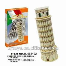 puzzle- 3D PUZZLE LEANING TOWER OF PISA