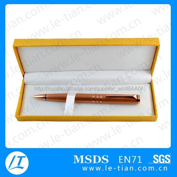 Lt-y881 надувательство фабрики сразу ручка подарочный комплект металлическое перо в подарочной коробке