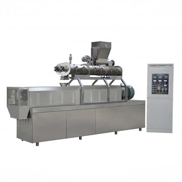 Most Popular Corn Chips Bugle Snacks Pellet Making Machine Twin Screw Extruder Machinery For Making Snacks