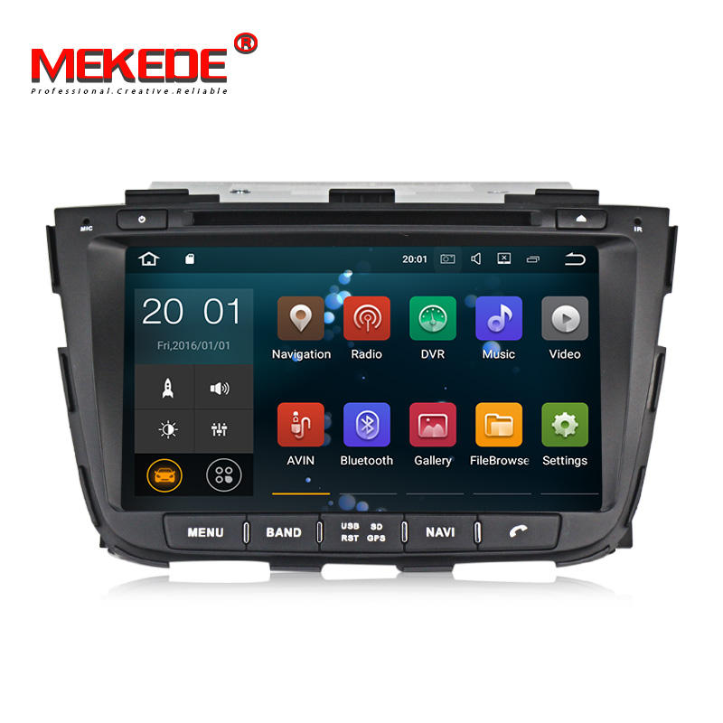 MEKEDE RK3188 Android 7.1 quad core car dvd player for KIA SORENTO 2013-2014 with 2G RAM+16G ROM support easy connect by phone