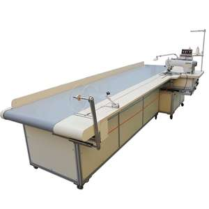 5.5m Curtain four side sewing machine