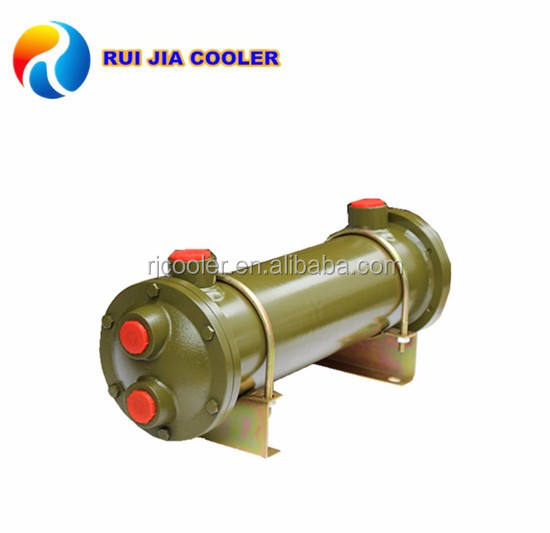 Shoe and leather hydraulic machinery copper coil heat exchangers