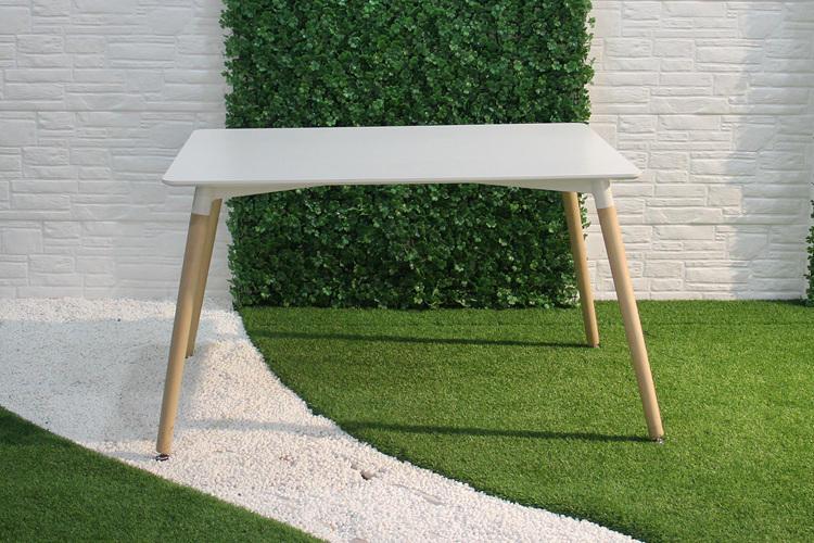 Pequeña mesa de comedor formal barata, diseño moderno del banquete HD del partido