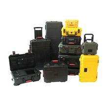 Factory Price IP67 Waterproof Dustproof Shockproof Strong Hard Plastic Case Waterproof Equipment Tool Case with Foam and Handle